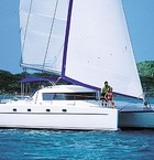 Belize 43 sailing