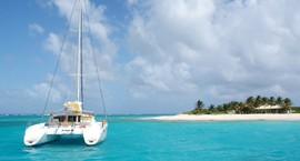 The Caribbean - sailing catamaran destination